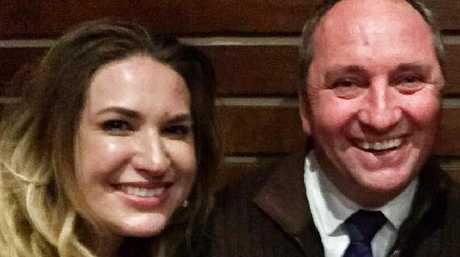 Vikki Campion and Barnaby Joyce. Source: Facebook