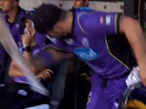 Wade charged over BBL final dummy spit