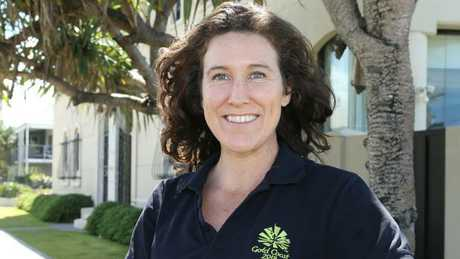 Sara Carrigan former cyclist has been appointed co-mayor of the Gold Coast Commonwealth Games athletes village. Picture Mike Batterham