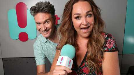 Kate Langbroek and Dave Hughes started their national Drive show on the HIT Network earlier this year. Picture: Alex Coppel