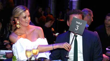 Karl Stefanovic and fiancee Jasmine Yarbrough
