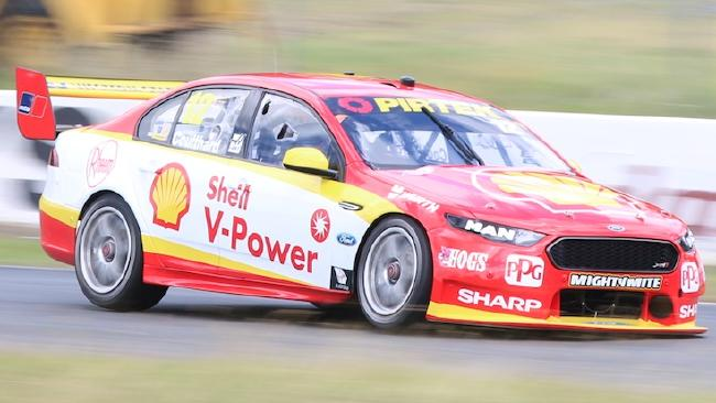 Fabian Coulthard has his championship campaign back on track. Picture: Matthew Paul Photos