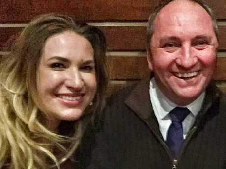 Barnaby Joyce and Vikki Campion.