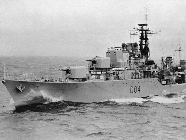 The HMAS Voyager was sunk when the ship was struck by the aircraft carrier HMAS Melbourne in 1964.