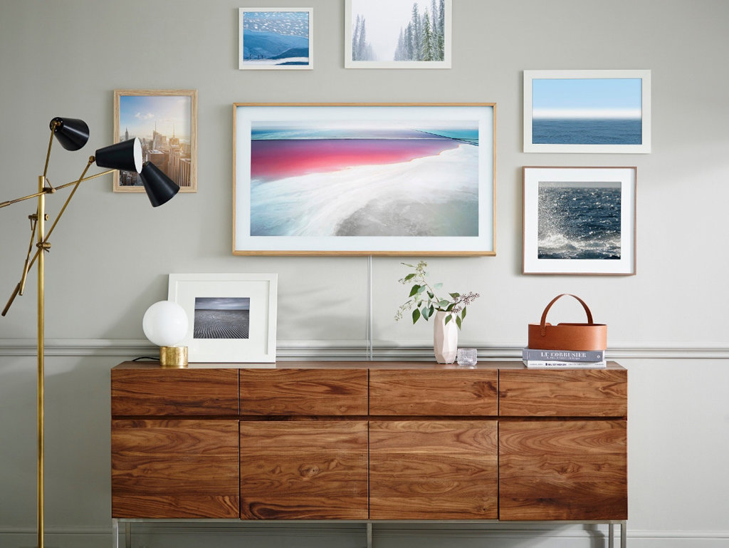 It's the perfect mix between art and entertainment. Now it's in a 43-inch perfect for the bedroom, kitchen or smaller room.