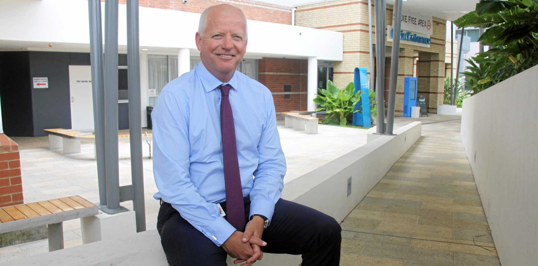 HEALTHY CAREER: Chief executive of the Northern New South Wales Local Health District, Wayne Jones, spent 10 years as a nurse before moving into management.
