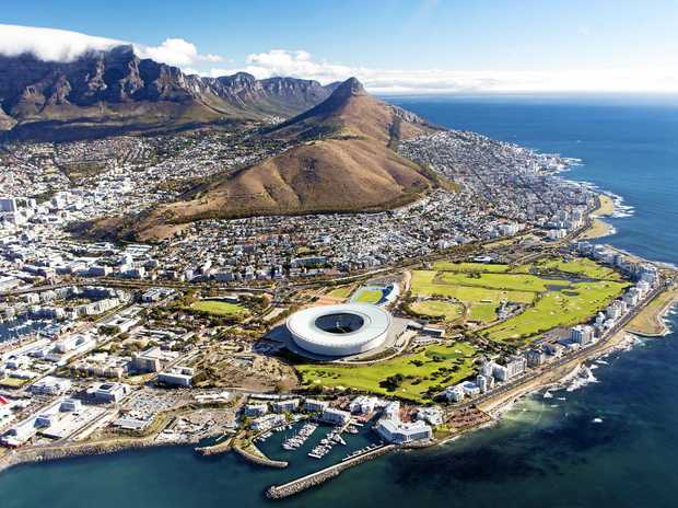 AERIAL VIEW: There's a lot to love about Cape Town, South Africa.