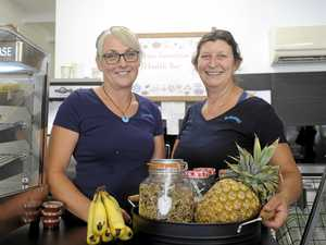 Pair's healthy start to smoothie business