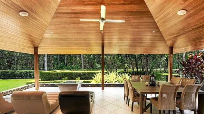 PARADISE FOUND: More a private resort than a home, this stunning Mudjimba property is truly one of a kind.
