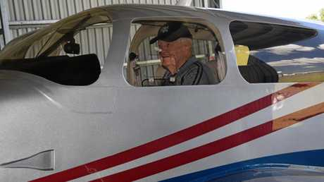 Dr John Lowrey has clocked up 27 volunteer flights with Angel Flight.