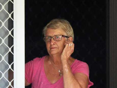 Susan Lamb's mother, Hazel, at her Queensland home.