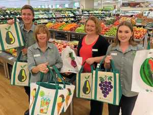 Local Woolies leads the way and goes bag free