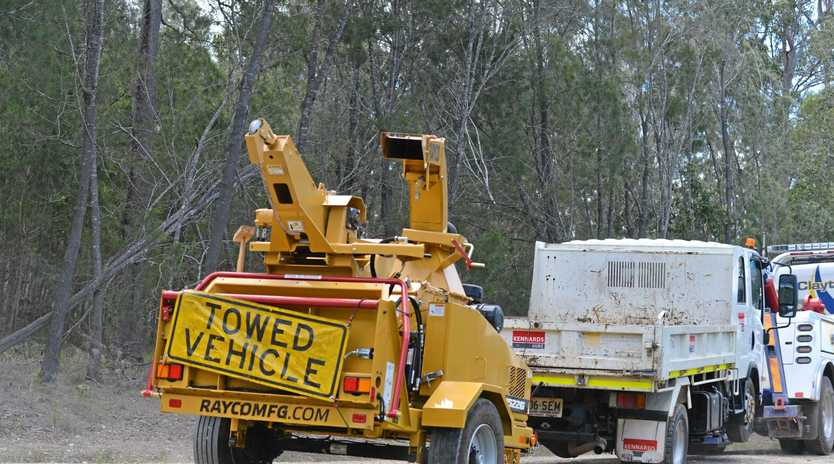 Bruce Saunders died after he became trapped in a woodchipper in November 2017.