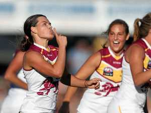 Lions rookie shares goal with Mum