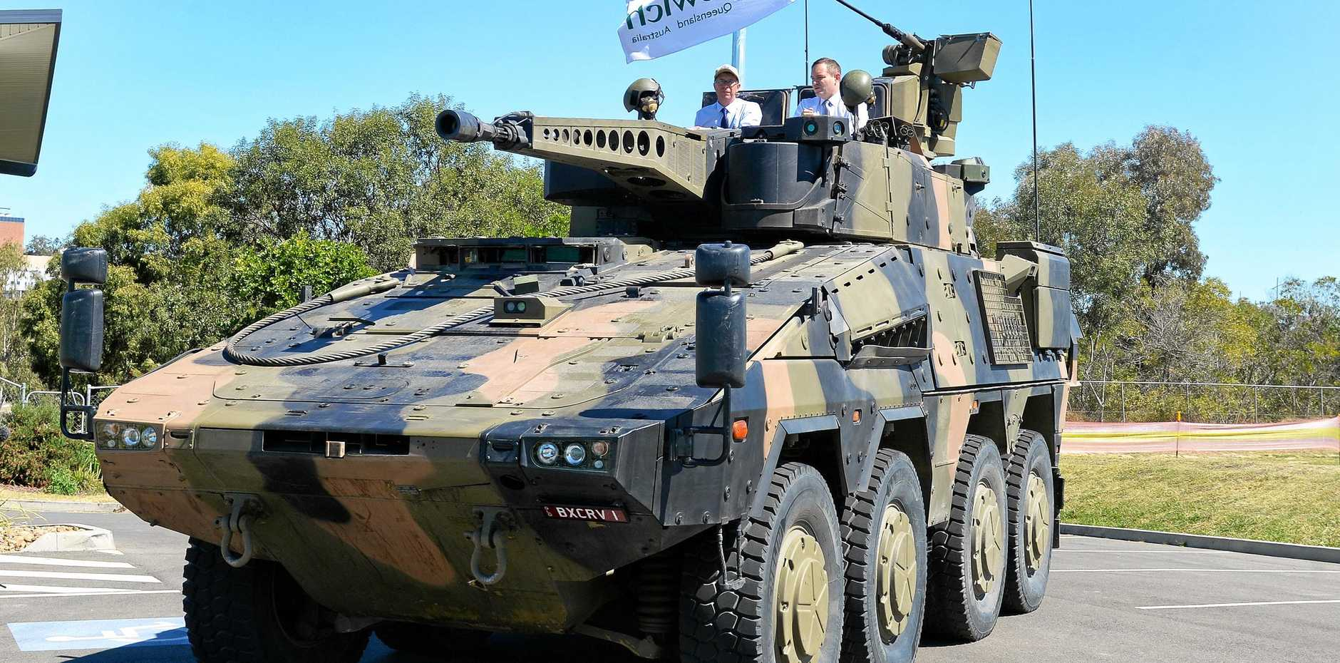 SPREAD IT AROUND: A reader believes Bundaberg would be the better place for Rheinmetall to manufacture from, not Ipswich.