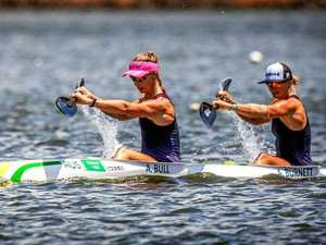 Kayak duo set to power into Sydney event