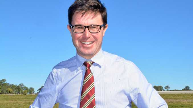 RELIGIOUS REVIEW: Maranoa MP David Littleproud.