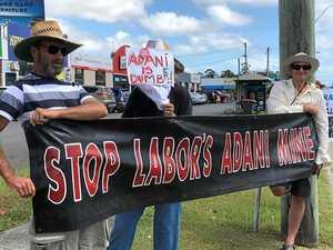 Adani protesters lobby MP
