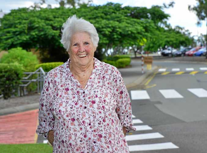 THE BEST: West Moreton Anglican College staff surprised long-term teacher Dell Rathbone who turned 80 this week.