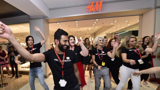 H&M has opened stores in regional centres other international retailers haven't touched, such as Townsville (above).