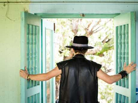 Brock Pierce at the former Children's Museum in Old San Juan. Picture: Erika P. Rodriguez/The New York Times/Headpress