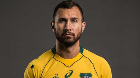 It's been a spectacular fall from grace for Quade Cooper.