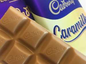 Chocolate-loving thief makes off with Cadbury Caramilk bars