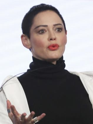 Rose McGowan. Picture: AP