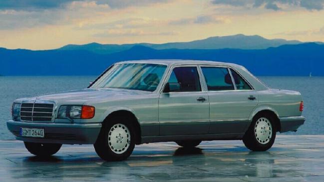 Four ratios ... plus revers: Late 1980s Mercedes.