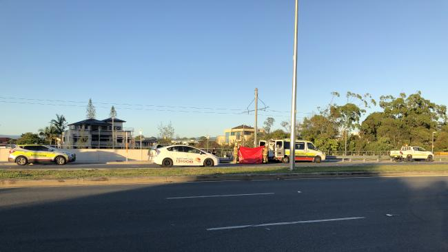 The incident happened just after 5am Picture — Andrew Potts