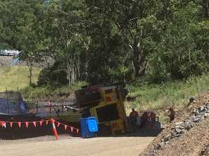 Work stops on Second Range Crossing after crane rollover