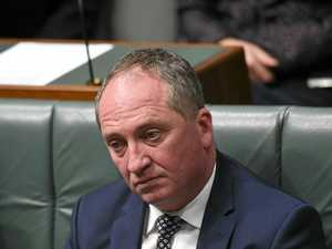 Barnaby apologises to wife and daughters