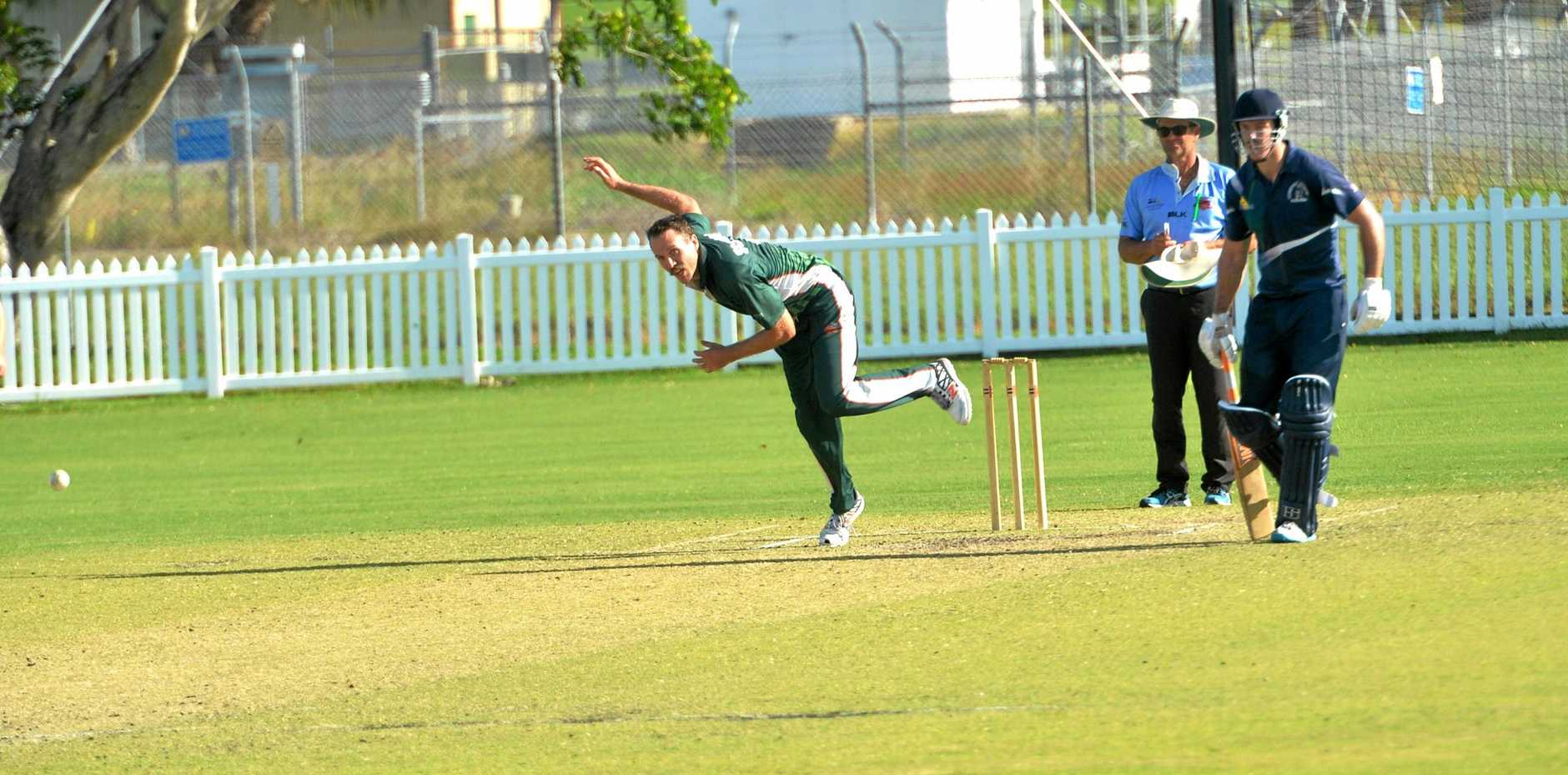 Spearhead Adam Knezevic will be a key for Walkerston in the T20 Shootout semi-final.