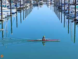Local strives to win marathon paddle