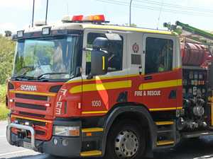Driver escapes injury in Tara truck fire