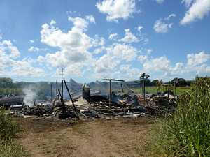 Owner distraught after fire guts Kuttabul home