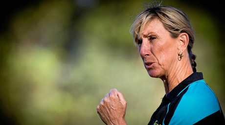 Champion Toowoomba athlete and 1984 Olympic gold medallist Glynis Nunn-Cearns.