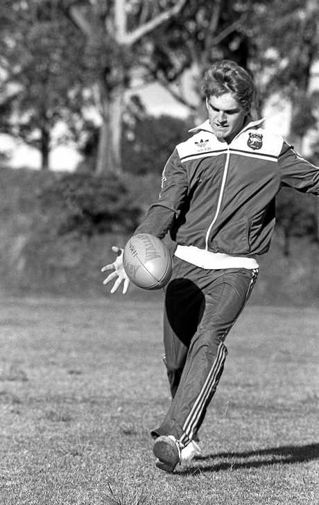 Former Toowoomba schoolboy rugby player and decorated Wallaby Tim Horan.