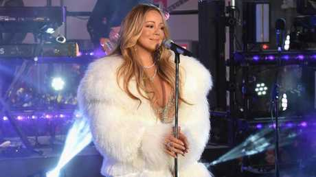 Mariah Carey, rolled gold diva. Picture: Getty