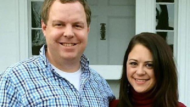 White House speechwriter David Sorensen with his ex-wife Jessica Corbett