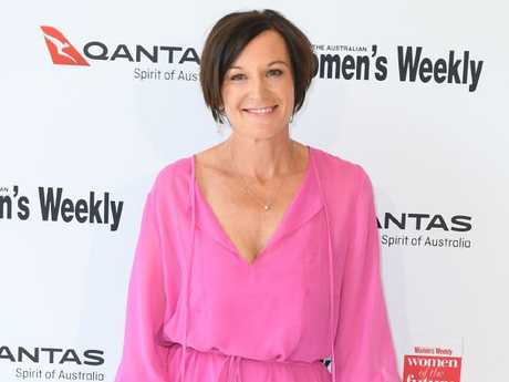 Cassandra Thorburn looking glamorous at the Women of the Future Awards in Sydney. Picture: Belinda Rolland