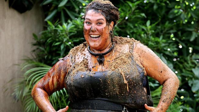 Long time in the short drop: Last year's jungle winner Casey Donovan. Picture: Channel Ten