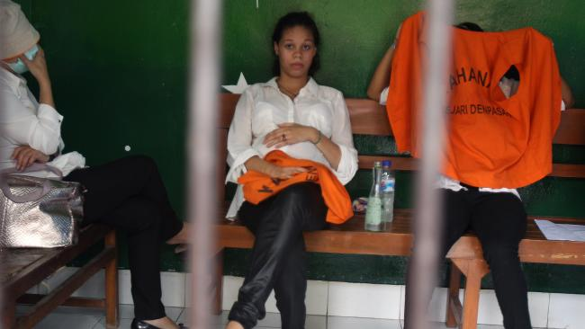 Heather Mack was captured after her mother was killed in Bali. Picture: Lukman S Bintoro
