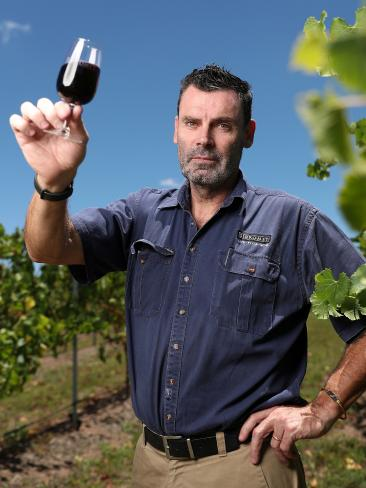 Adam Chapman, chief winemaker at Siromet, says local winemakers should have been given priority at the Games. Picture: Peter Wallis