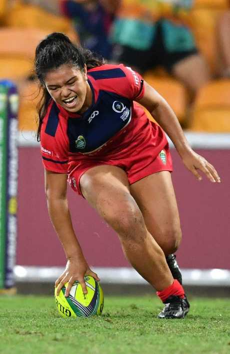 Fakaosilea starred for the Reds at the Brisbane Tens