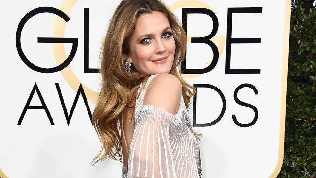 Drew Barrymore has a few things to say about internet dating. Picture: Frazer Harrison/Getty Images/AFP