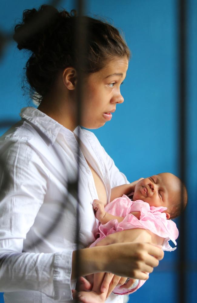 Heather Mack was also convicted, but was pregnant during her trial, and gave birth while incarcerated. Picture: Lukman S Bintoro