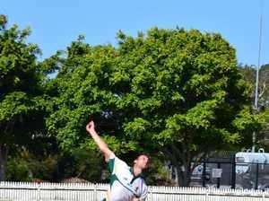 Cudgen fast bowler James Julius in Far North Coast LJ