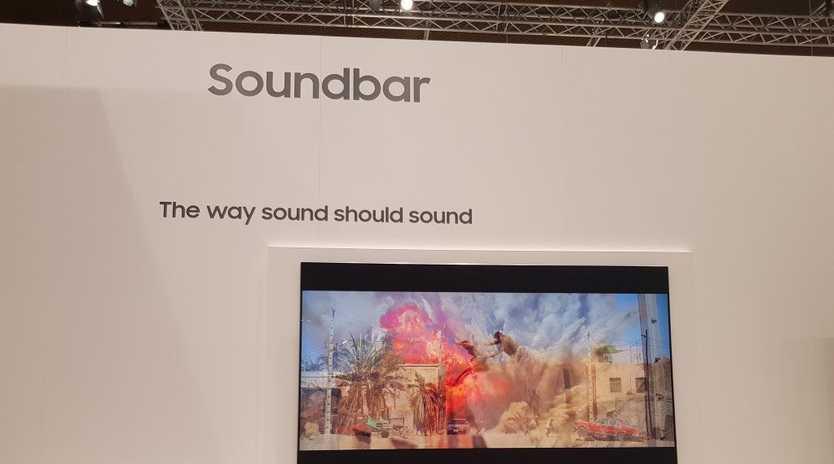 Samsung's latest wall-mounted soundbar, the NW700 Sound+.