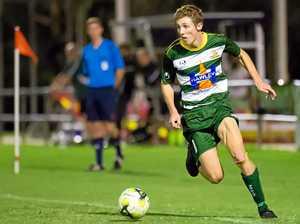 Football star sweats on international clearance